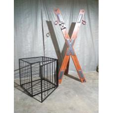 Андреевский крест для пыток бдсм