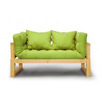 Кушетка Амбер Textile Сосна Green