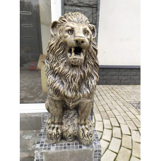 Лев скульптура.