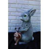 Зайчиха с зайчатами