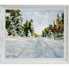 "Зима ""Масло Кисть.Р"