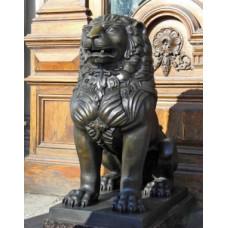 Лев охранник. Скульптура. Ручная работа !