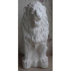 Статуя льва из гипса в прокат.