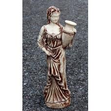 """Статуя девушка с кувшином """"Леона"""". Шамот."""