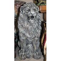 Лев скульптура. Камень