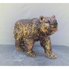 Медведь. Гипс.