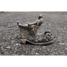 Кашпо Башмак .Керамика